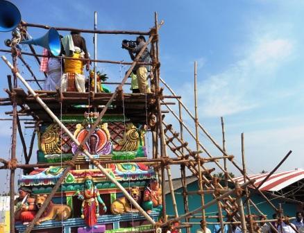 ராமநாதபுரம் ஒற்றைபனைமரத்து காளியம்மன் கோயில் கும்பாபிஷேகம்