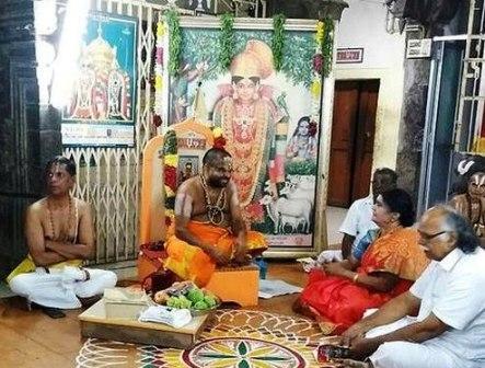 அரசு அதிகாரிகள் சமரசம் : ஸ்ரீவில்லிபுத்தூர் ஜீயர் சுவாமிகளின் உண்ணாவிரதம் நிறைவு பெற்றது