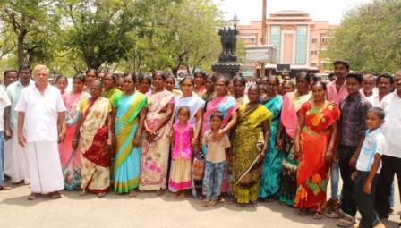 டாஸ்மாக் கடை அமைப்பதை தடுக்ககோரி நாமக்கல் ஆட்சியரிடம் பொதுமக்கள் மனு