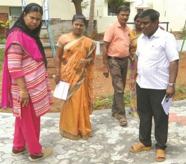நாமக்கல் ஊராட்சி ஒன்றியத்தில் ஆட்சியர் வளர்ச்சி திட்டப்பணிகளை பார்வையிட்டு ஆய்வு