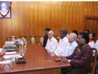ஊடக பிரதிநிதிகள் முதலமைச்சர் பழனிச்சாமியுடன் சந்திப்பு