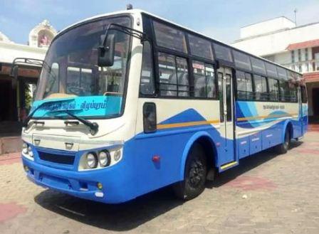பெரம்பலூர் மாவட்டத்தில் 68 நாட்களுக்கு பிறகு 47 அரசுப் பேருந்துகள் இயக்கப்பட்டது!