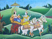 சென்னையில் கேரளா மியூரல் ஓவியரின் மகாபாரத ஓவிய கண்காட்சி