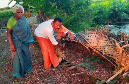 பெரம்பலூர் அருகே விவசாயி வயலில் 400 கிலோ வெங்காயம் கொள்ளை!