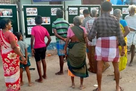 பெரம்பலூர் அருகே செய்தி மக்கள் தொடர்புத் துறையின் சார்பில் புகைப்படக் கண்காட்சி!