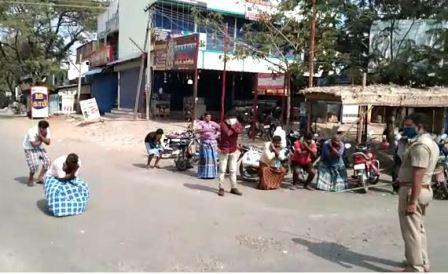 பெரம்பலூரில் 144 உத்தரவை மதிக்காத 40 பேர்கள் மீது வழக்குப்பதிவு!