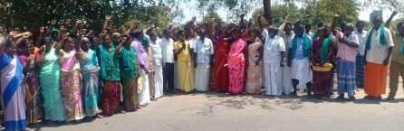 பெரம்பலூரில், 7 அம்ச கோரிக்கைகளை வலியுறுத்தி பணியாளர்கள் கண்டன ஆர்ப்பாட்டம்