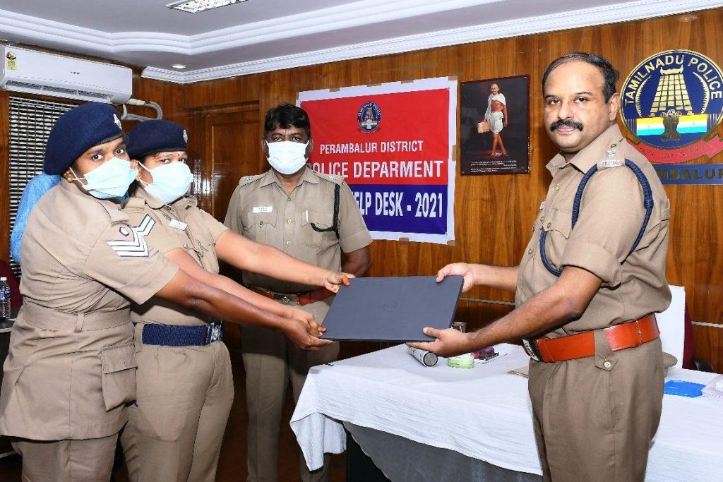 பெரம்பலூர் மாவட்டத்தில் உள்ள அனைத்து காவல் நிலையங்களிலும் பெண்கள் உதவி மையம்